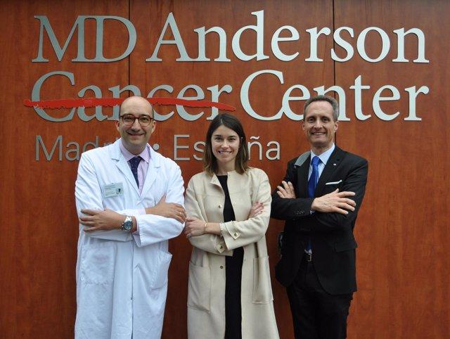 Convenio entre OncoDNA y MD Anderson Cancer Center Madrid