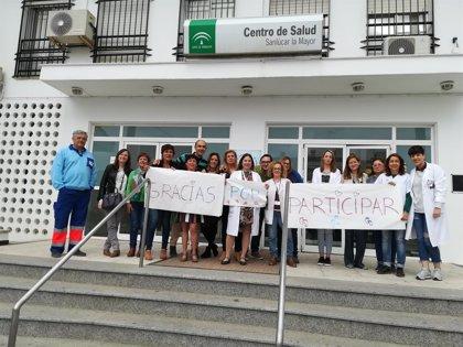 El centro de salud de Sanlúcar La Mayor (Sevilla) desarrolla en el municipio el proyecto 'Por un millón de pasos'