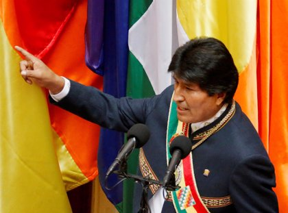 """Morales acusa a EEUU de """"forzar una intervención"""" en Venezuela con la """"excusa"""" de la Carta Democrática"""