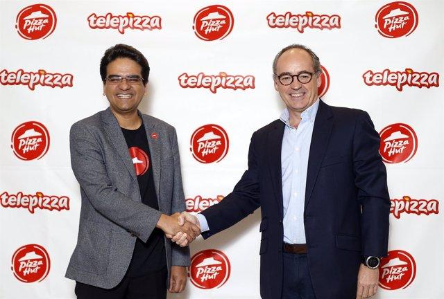 Alianza entre Pizza Hut y Telepizza