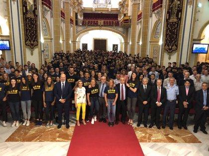 """La UCAM celebra sus """"récords"""" en la vigésima Gala del Deporte con más de 500 deportistas"""