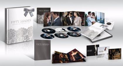 Cincuenta sombras liberadas 'sin censura' y la trilogía Cincuenta sombras al completo llegan en DVD y Blu-ray