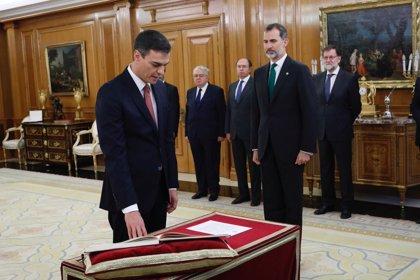 Los ministros de Sánchez jurarán o prometerán sus cargos ante el Rey este jueves a las 10.00 horas