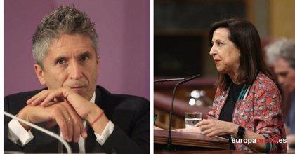 El juez Grande-Marlaska, nuevo ministro del Interior y Margarita Robles, la titular de Defensa