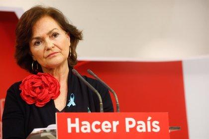 Carmen Calvo vuelve a un Gobierno del PSOE, esta vez como vicepresidenta y ministra de Igualdad