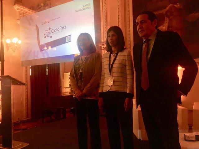 Valladolid.- Pilar Del Olmo, Rocio Arroyo y Antonio Sáez Aguado