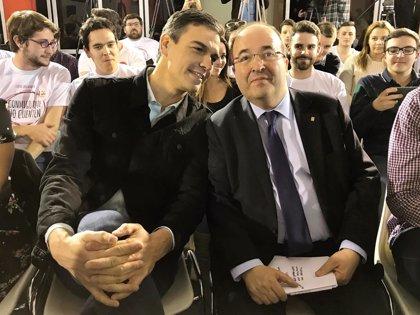 """Miquel Iceta: """"El gobierno de Pedro Sánchez nos llena de orgullo"""""""