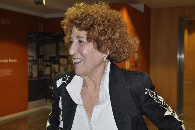La presidenta de la Real Academia de la Historia, Carmen Iglesias.