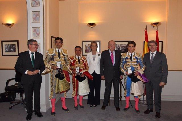 El Rey Juan Carlos preside la Corrida de la Beneficencia en Las Ventas
