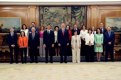 Carmen Montón promete su cargo como nueva ministra de Sanidad, Consumo y Bienestar Social
