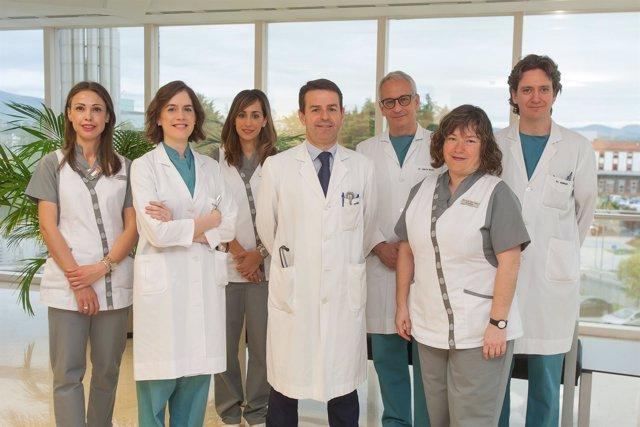 Equipo de cardiología de la Clínica Universidad de Navarra