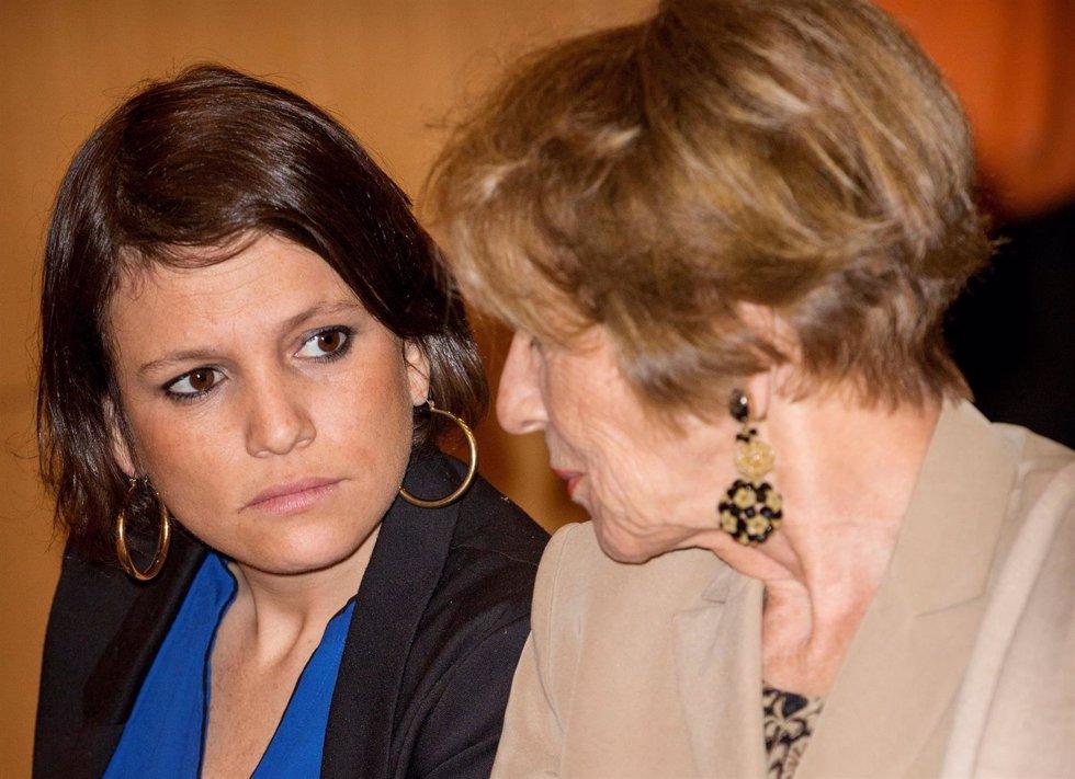 Inés zorreguieta con su madre