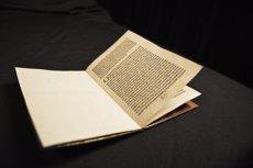 EUA lliura a Espanya una carta signada per Cristòfor Colom robada de la Biblioteca de Catalunya (ICE)