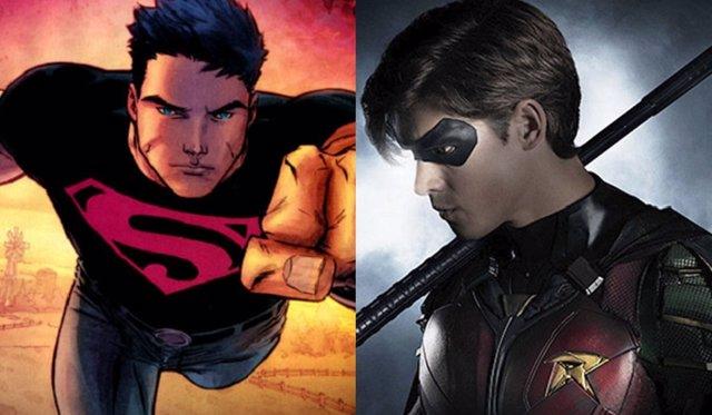 Superboy y Titans