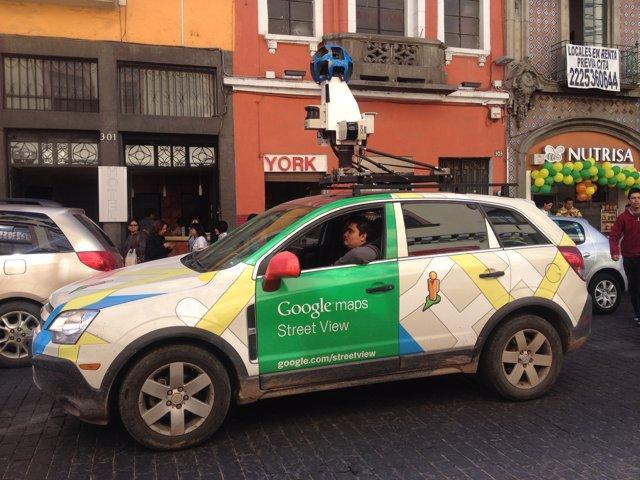 Cámara google street view