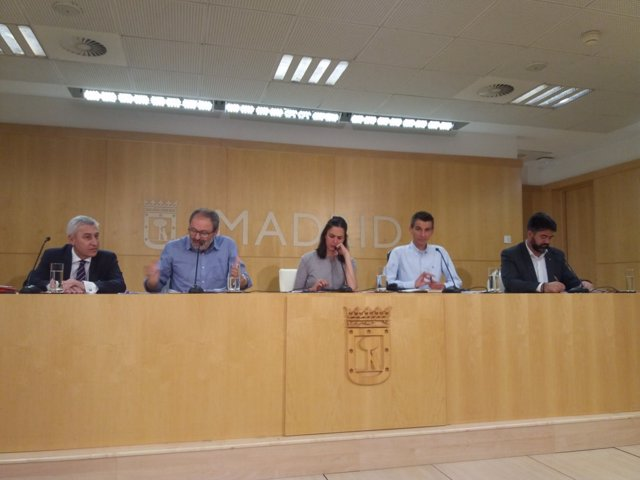 Rueda de prensa de la Junta de Gobierno municipal
