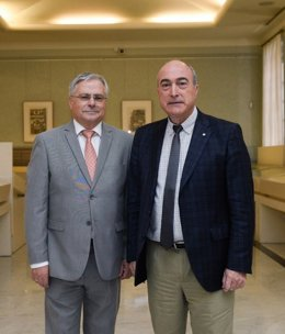 Los presidentes de FACME y COSCE