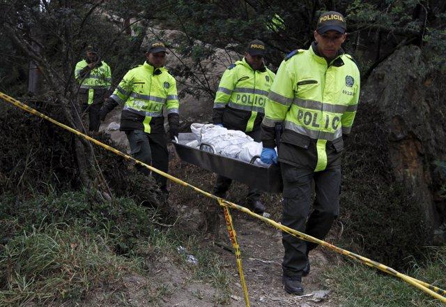 La Policía halla el cadáver de una mujer en el centro de Bogotá