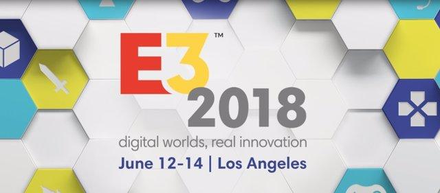 Cartel de la feria E3 2018