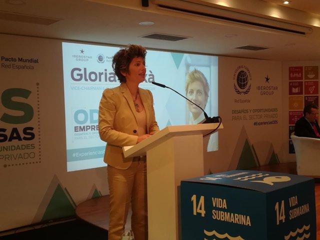 La vicepresidenta de Grupo Iberostar, Gloria Fluxà