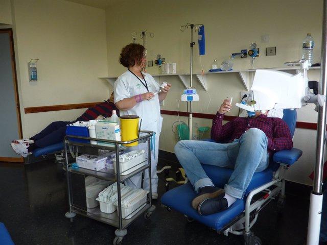 Consulta de enfermería oncológica.