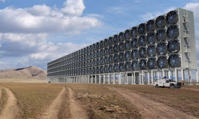 Cómo succionar CO2 del aire para obtener combustibles