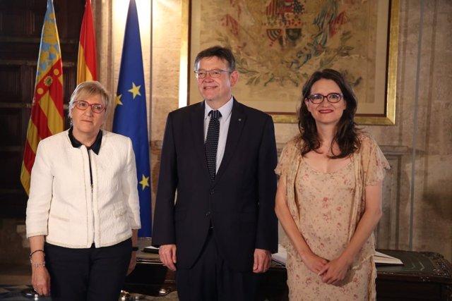 Toma de posesión de Ana Barceló como consellera de Sanidad