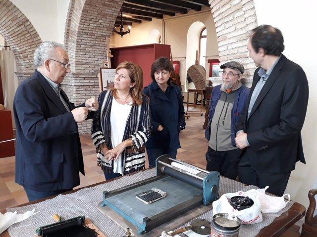 Inauguración de la muestra 'El arte de imprimir'