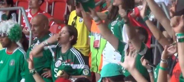 Afición mexicana