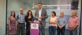 Foto: Ginés Ruiz, precandidato a la secretaría general en el municipio de Murcia con 'Cuidando Podemos'