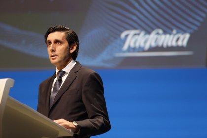 Los accionistas de Telefónica respaldan el plan de incentivos en acciones a directivos de hasta 250 millones