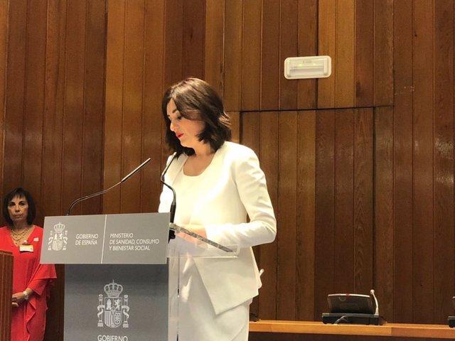 Carmen Montón, toma de posesión de la ministra de Sanidad
