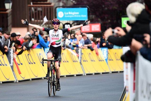 Daniel Martin gana la quinta etapa del Dauphiné Liberé