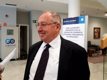 Bonet (Cámara de España) espera que el nuevo Gobierno mejore la relación con Cataluña