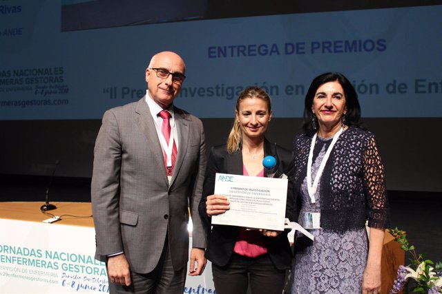 Premio a la Investigación en Gestión Enfermera de ANDE