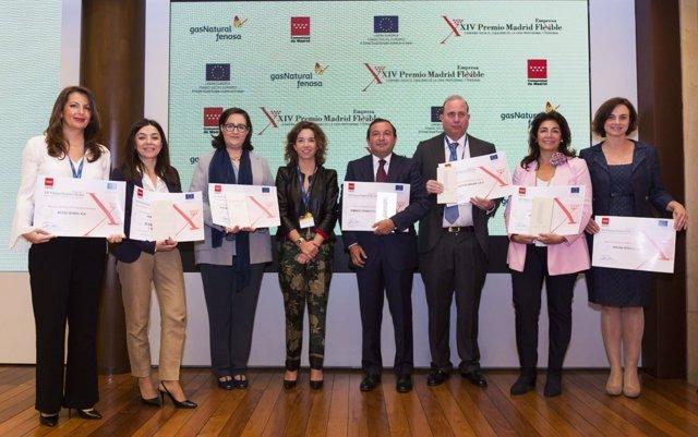Premios Madrid Empresa Flexible 2018