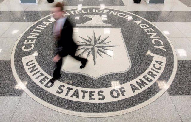 La recepción de la sede de la CIA en Virginia.