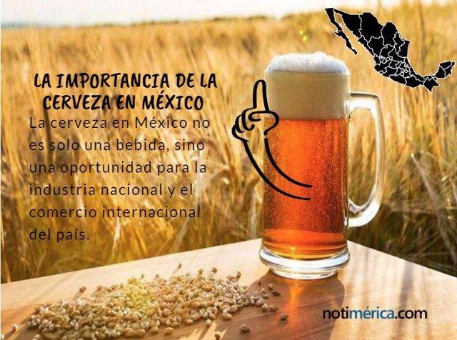 La importancia de la cerveza en México