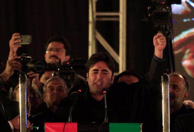 Bilawal Bhutto Zardari, presidente del Partido Popular de Pakistán
