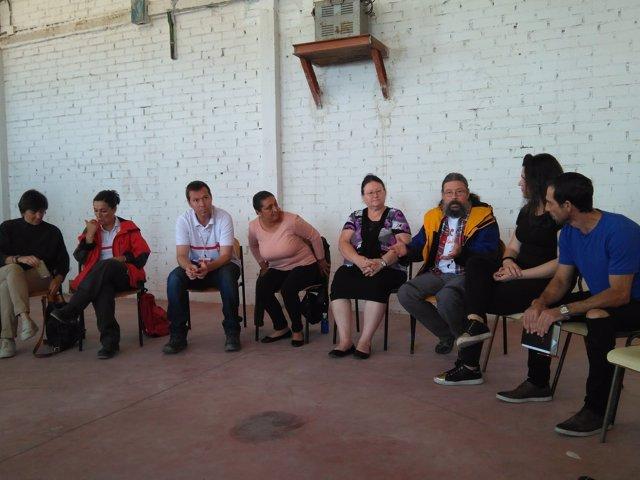 Reunión en la Antigua Fábrica de Muebles de la Cañada