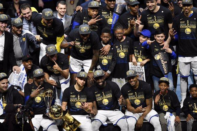 Golden State Warriors título campeón NBA anillo
