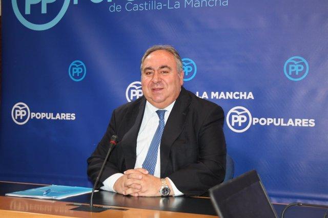 Vicente Tirado, secretario regional del PP C-LM
