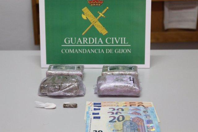 Remitiendo Nota De Prensa Detención Una Persona Delito Contra La Salud Pública