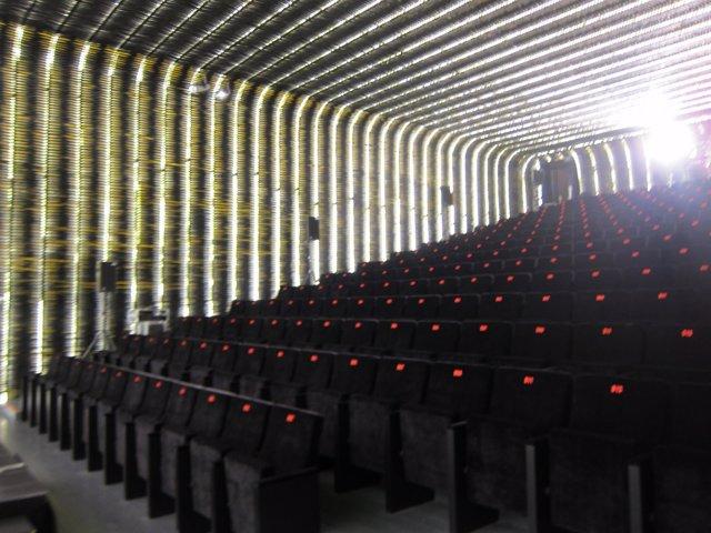 Sala De Proyecciones Azcona De La Cineteca Del Matadero De Madrid