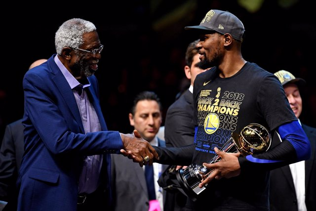 Golden State Warriors Kevin Durant MVP NBA