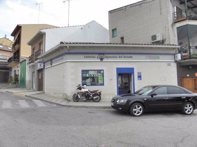 Administración de Mondéjar que ha repartido un segundo premio de Bonoloto