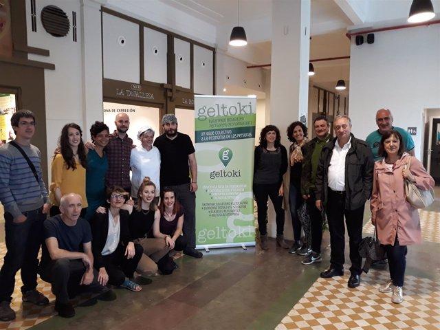 Inauguración de Geltoki en Pamplona