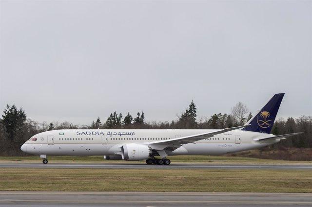Avión de Saudia Airlines