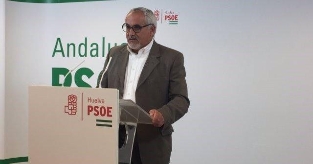 El socialista Diego Ferrera
