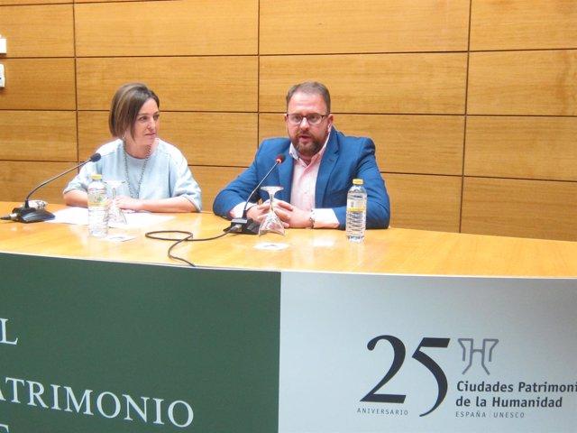 Isabel Ambrosio y Antonio Rodríguez Osuna